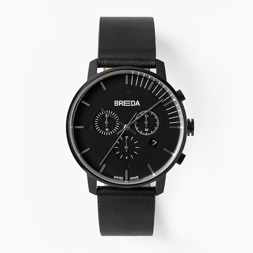 브레다 Phase (Chronograph) - Black Black