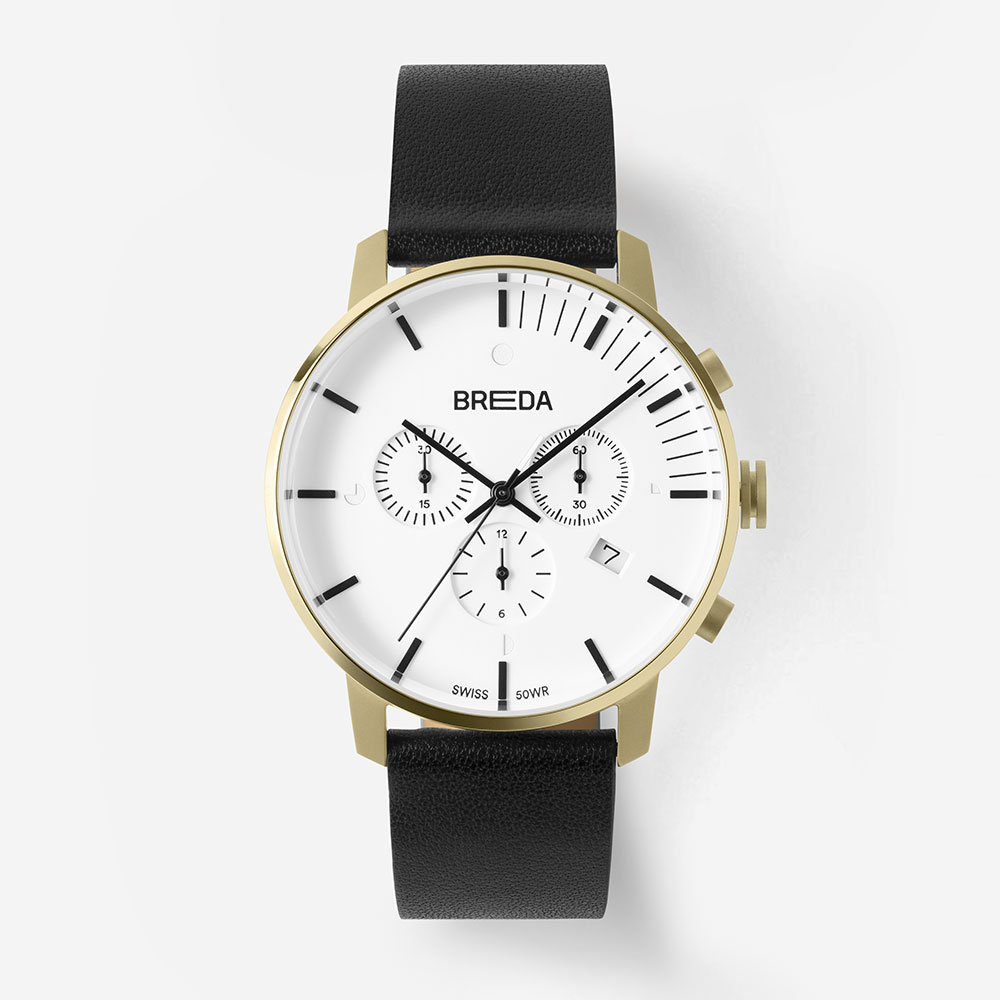 브레다 Phase (Chronograph) - Gold Black